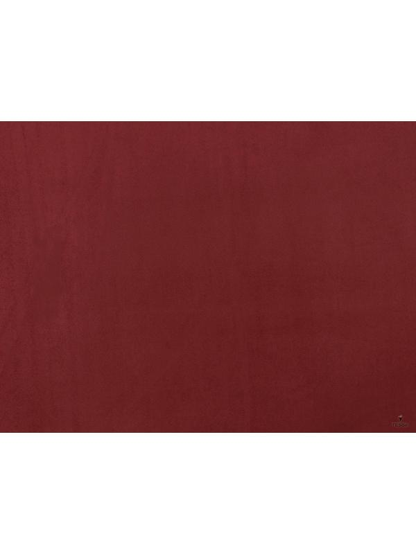 Double-Face Bi-Stretch Microsuede Fabric Apple Red