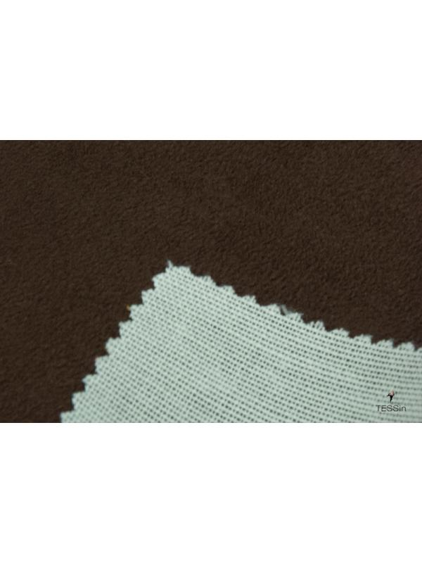 Bonded Suede Fabric Cocoa