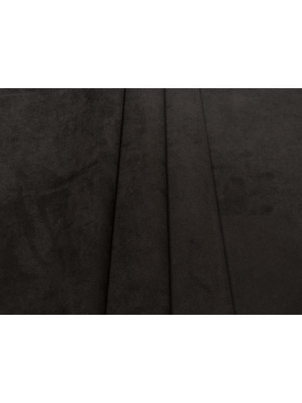 Bonded Suede Fabric Stain Resistant Anthracite - Brera