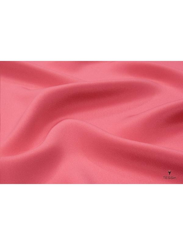 Silk Cady Fabric 8 Ply Coral Pink