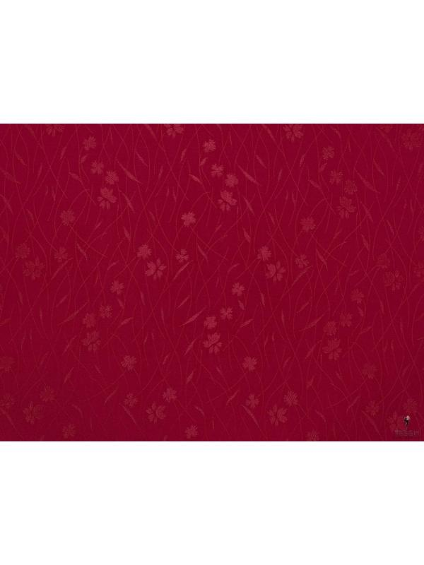 Cady Fabric Floral Cherry Red