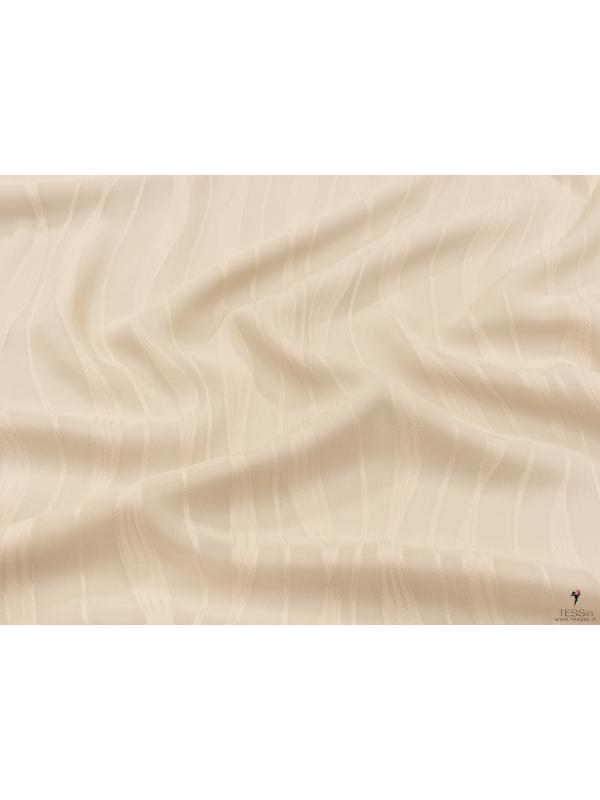 Georgette Fil Coupe Fabric Light Sand
