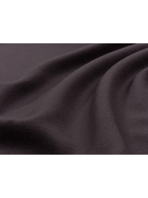 Mtr. 2.00 Velour Fabric Wool Cashmere Fabric Cocoa Brown