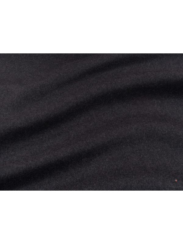Double Face Stretch Cloth Fabric Anthracite Grey