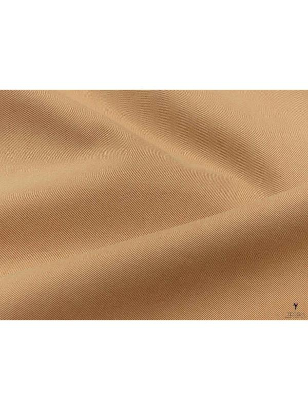 Cotton Twill Yarn Dyed Fabric Golden Nugget Made in Italy