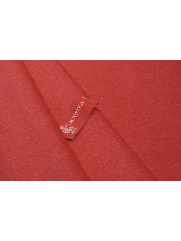 Velour Fabric Wool and Cashmere Piacenza 1733 Red