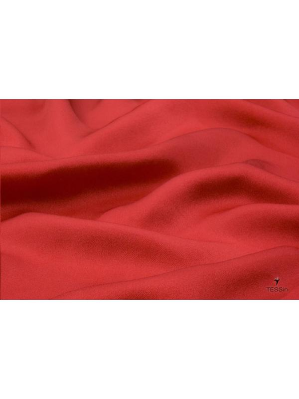 Silk Charmeuse Fabric 2 Ply AAA Red